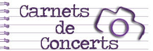 Carnets de Concerts